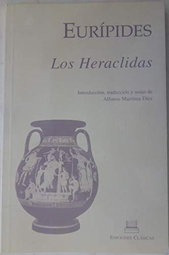 Euripides. los heraclidas: Martinez Diez, Alfonso