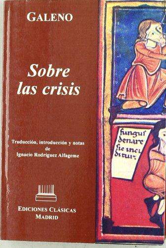 9788478825271: Sobre Las Crisis