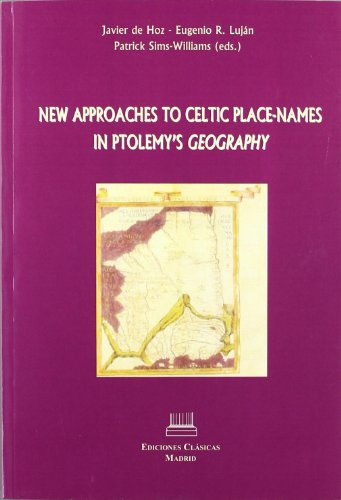 9788478825721: New approaches to celtic place-names in ptolemy's geography