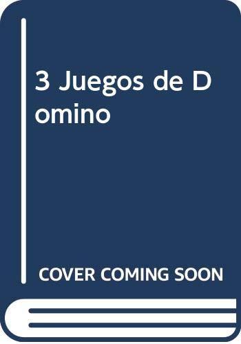 9788478839162: 3 Juegos de Domino (Spanish Edition)