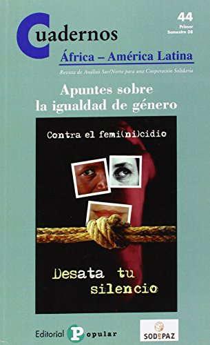 9788478844012: Apuntes sobre la igualdad de género (Cuadernos �frica-América Latina)