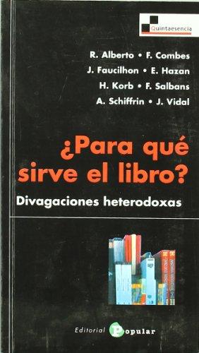 Para que sirve el libro?/ What is: AA. VV.