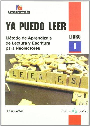9788478845088: Ya puedo leer: Método de aprendizaje de lectura y escritura para neolectores. Libro 1: 2 (Papel de prueba)
