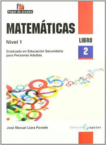 9788478845118: Matemáticas Nivel 1 / Mathematics Level 1: Graduado En Educación Secundaria Para Personas Adultas / Secondary Education for Adults (Spanish Edition)