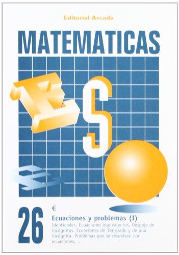 9788478871865: Matemáticas. Ecuaciones Y Problemas (I) 26