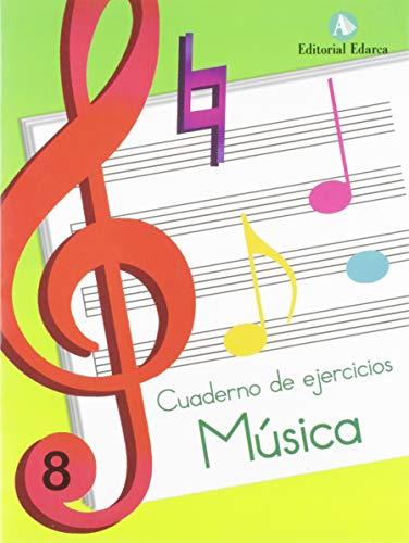 9788478872220: Música. Cuaderno De Ejercicios 8 (Musica)