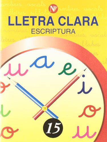 9788478873852: Lletra Clara - Escriptura 15