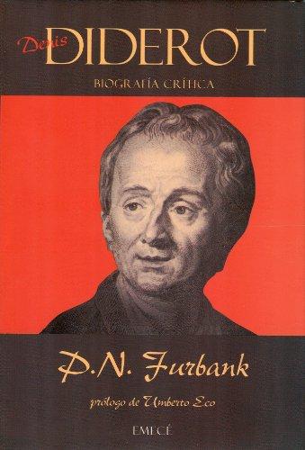 9788478881529: Denis Diderot. Biografia critica (Spanish Edition)