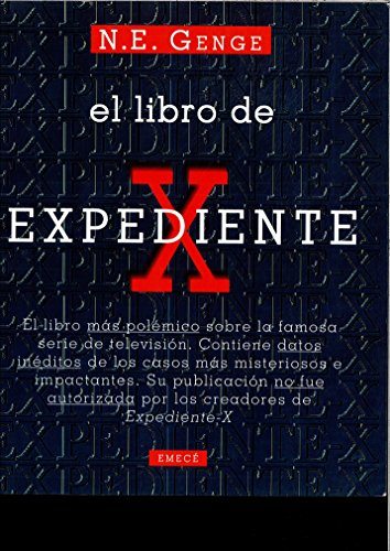 9788478882793: LIBRO DE EXPEDIENTE X, EL