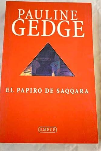 9788478884865: El papiro de Saqqara