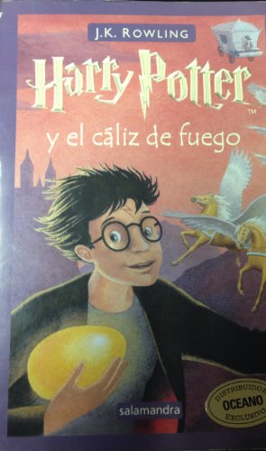 9788478886647: Harry potter y el caliz de fuego