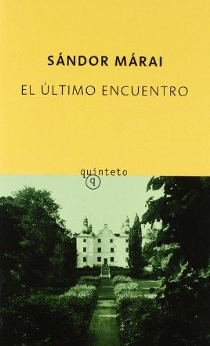 9788478887347: El último encuentro (Quinteto Bolsillo)