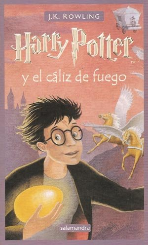 9788478887736: Harry potter y el caliz de fuego