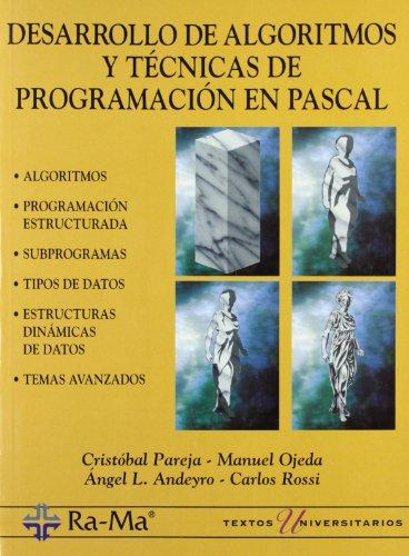 9788478972906: Desarrollo de Algoritmos y Tecnicas de Programacion en Pascal