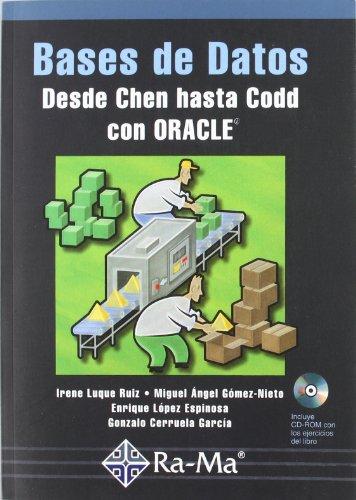 9788478974788: Bases de Datos: Desde Chen hasta Codd con Oracle.