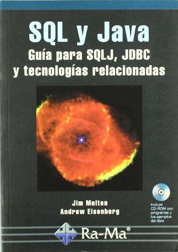 9788478975068: SQL y Java. Guía para SQLJ, JDBC y tecnologías relacionadas.