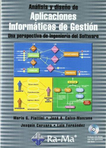 9788478975877: Análisis y diseño de Aplicaciones Informáticas de Gestión. Una perspectiva de Ingeniería del Software.