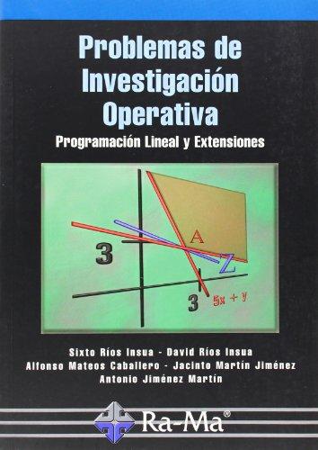 Problemas de investigación operativa (Paperback): David Rios Insua,