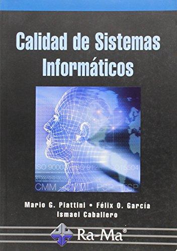 9788478977345: Calidad de Sistemas Informáticos