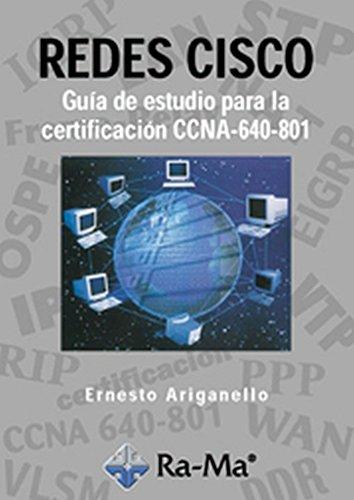 9788478977475: Redes CISCO: Guía de estudio para la certificación CCNA 640-801