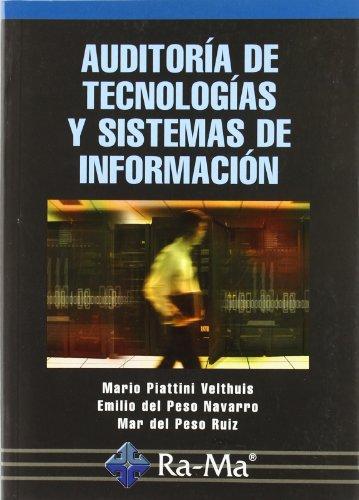 9788478978496: Auditoría de Tecnologías y Sistemas de Información.