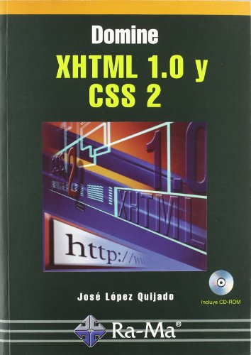 9788478978939: Domine Xhtml 1,0 y css 2