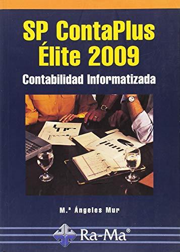 9788478979196: SP ContaPlus Élite 2009. Contabilidad informatizada