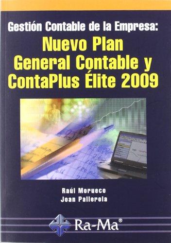 9788478979226: Gestión contable de la empresa: Nuevo Plan General Contable y Contaplus Élite 2009