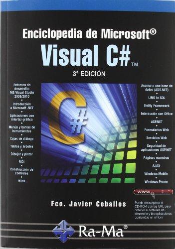 Enciclopedia de Microsoft Visual c# (3ª Ed.): Sierra, Fco. Javier