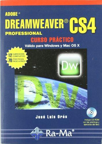 Adobe Dreamweaver cs4 Professional: Curso Practico: OROS, JOSE LUIS