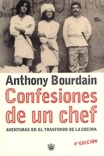 9788478713738: Confesiones de un chef/ Kitchen Confidential (Spanish ...