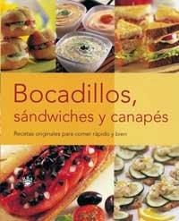 9788479017279: Bocadillos, Sandwiches y Canapes