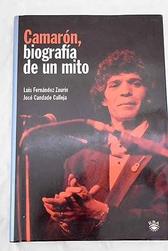 9788479018610: Camaron, biografia de un mito (VARIOS RBA)