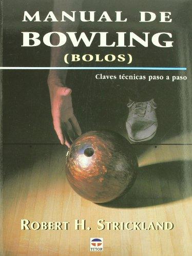 9788479024505: Manual De Bowling