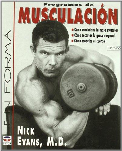 9788479024932: Programas de musculacion / Men's Body Sculpting (Spanish Edition)