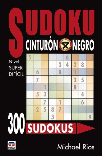 9788479025410: SUDOKU CINTURÓN NEGRO. Nivel SUPER DIFÍCIL