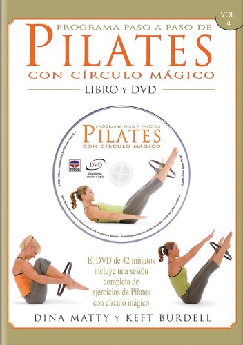 9788479027025: Programa paso a paso de Pilates con circulo magico + DVD