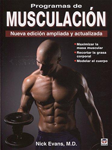 9788479028831: Programas de musculacion / Fitness Programs (Spanish Edition)