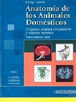 9788479037475: Anatomia De Los Animales Domesticos/ Anatomy of the Domestic Animals: Texto Y Atlas En Color (Spanish Edition)