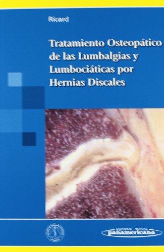 9788479037871: Tratamiento Osteopático de las Lumbalgias y Lumbociáticas por Hernias Discales