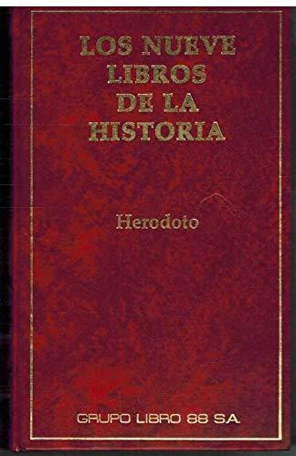 9788479050177: Los nueve libros de la historia