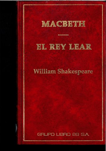 9788479050221: MACBETH EL REY LEAR