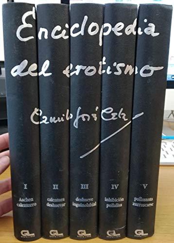 9788479060459: Enciclopedia del erotismo, 5 vols