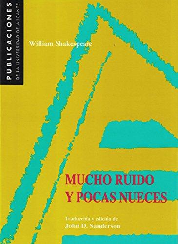 9788479083601: Mucho ruido y pocas nueces (Monografías)