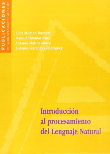 9788479084738: Introducci¾n al procesamiento del Lenguaje Natural