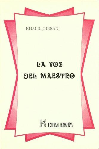 9788479101787: Voz Del Maestro,La