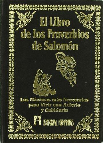 9788479102081: Libro De Los Proverbios Salomon -Terciopelo