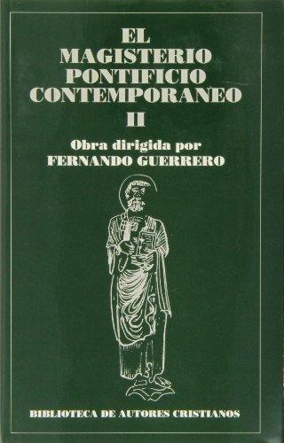 Magisterio pontificio contemp. ii. - Guerrero