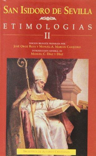 9788479141592: Etimologias; t.2edicion bilingue castellano-latin