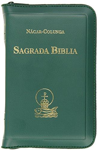 Sagrada Biblia - Con Cierre / Chica: Nacar-Colunga